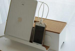 コードがスッキリ!IKEAのKVISSLEケーブル収納ボックス