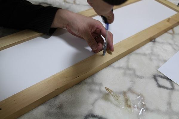 【初めてのDIY】IKEAのKUNSKAP シェルフユニットとワゴンを購入して組み立ててみました
