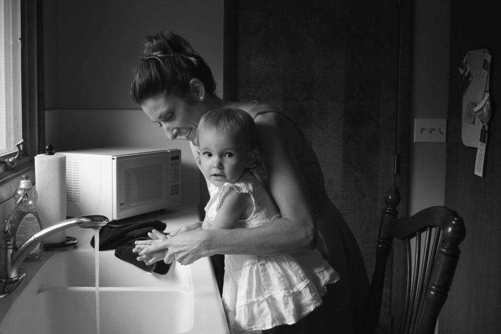 保育園児のトイレトレーニングのトレパンの簡単洗濯方法